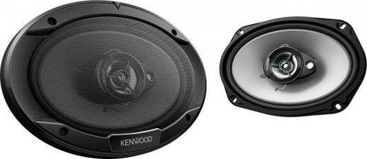 Автоакустика Kenwood KFC-S6966 коаксиальная 3-полосная 15x23см 45Вт-400Вт коаксиальная автоакустика hertz dcx 87 3