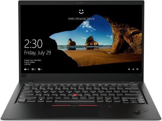 Ультрабук Lenovo ThinkPad X1 Carbon 6 (20KH0039RT) ультрабук lenovo thinkpad x1 yoga 2nd gen 20jf002ert