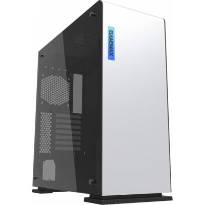 Корпус ATX GameMax Vega White Temp Glass(9909) Без БП белый