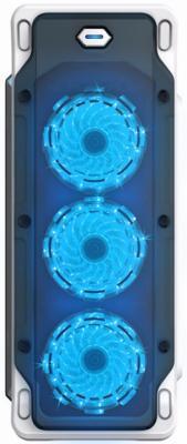 Корпус ATX GameMax Starlight Без БП белый gamemax [h605 tb] без бп mini tower atx
