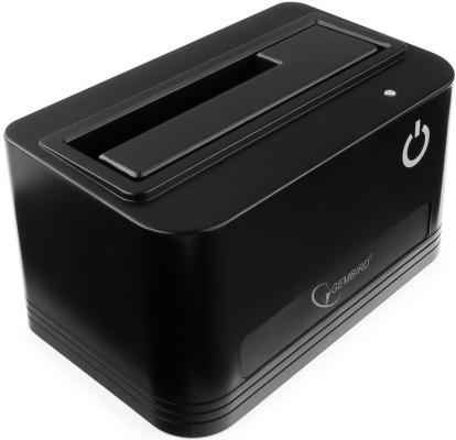 Док станция для HDD 2.5/3.5 SATA Gembird HD32-U3S-4 USB3.0 черный 1pcs serial ata sata 4 pin ide to 2 of 15 hdd power adapter cable hot worldwide