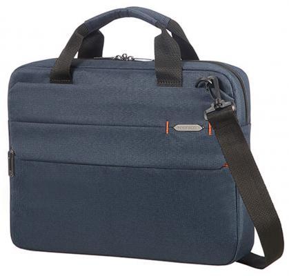 """Сумка для ноутбука 14.1"""" Samsonite CC8*001 полиэстер синий сумка для ноутбука samsonite сумка для ноутбука 15 6 xbr 44 5x34x24 5 см"""