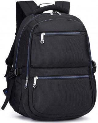"""все цены на Рюкзак для ноутбука 15.6"""" Continent BP-101 BB полиэстер черный"""