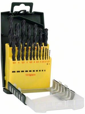 Набор сверел Bosch HSS-R 19шт 2607017151