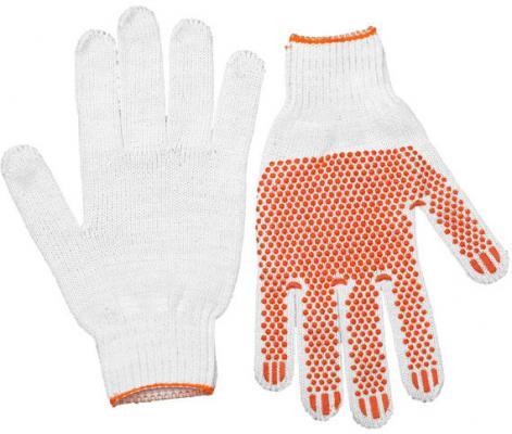 Перчатки Stayer Master трикотажные 7 класс х/б с защитой от скольжения L-XL 10пар 11397-H10