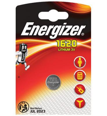 ENERGIZER Батарейка Lithium CR1620 PIP 1шт