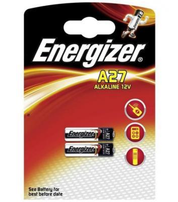 ENERGIZER Батарейка алкалиновая A27 FSB 2шт energizer chvc3 base eu e300320900