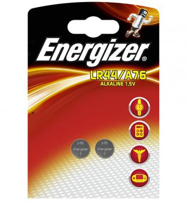 ENERGIZER Батарейка алкалиновая LR44/A76 FSB 2шт батарейка energizer alkaline power aaa алкалиновая 8 шт