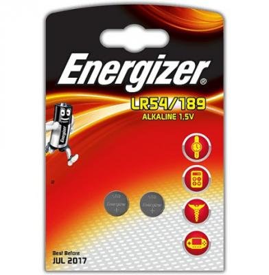 ENERGIZER Батарейка алкалиновая LR54/189 FSB 2шт батарейка energizer alkaline power aaa алкалиновая 8 шт