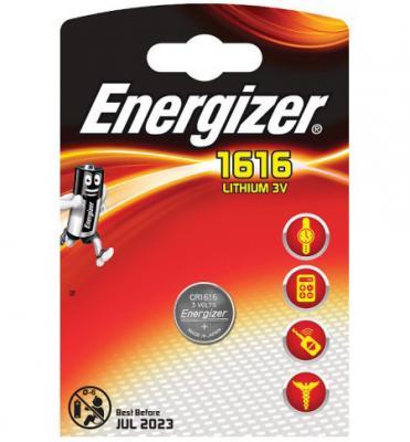 ENERGIZER Батарейка Lithium CR1616 PIP 1шт батарейка energizer e 23a bl1