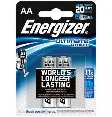 ENERGIZER Батарейка Lithium L91 тип АА 2шт