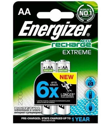ENERGIZER Аккумулятор Extreme тип АА 2300mAh 2шт energizer аккумулятор universal тип аа 1300mah 4шт