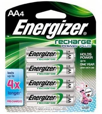 ENERGIZER Аккумулятор Power Plus HR6 тип АА 2000mAh 4шт energizer аккумулятор universal тип аа 1300mah 4шт