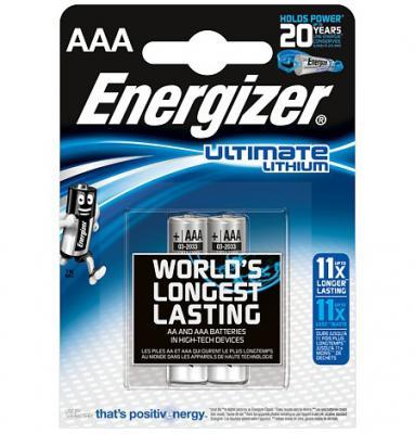 ENERGIZER Батарейка Lithium L92 тип ААА 2шт