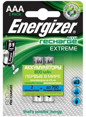 ENERGIZER Аккумулятор Extreme тип ААA 800mAh 2шт аккумулятор energizer plus 535 119 030 35ач