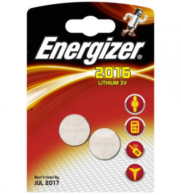 ENERGIZER Батарейка Lithium CR2016 FSB 2шт