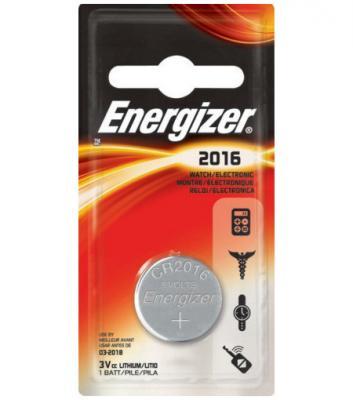 ENERGIZER Батарейка Lithium CR2016 PIP 1шт батарейки cr2016 panasonic 3w 90mah 1шт