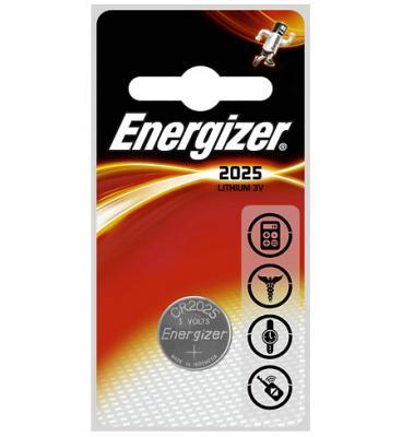 ENERGIZER Батарейка Lithium CR2025 PIP 1шт