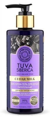 Гель для душа NATURA SIBERICA Tuva - питательный ягода 300 мл natura siberica tuva питательный крем для рук tuva питательный крем для рук