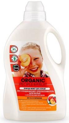 """Кондиционер для белья Organic People """"Органический персик"""" 1.5л"""