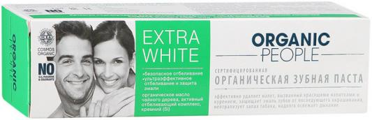 Зубная паста Organic People Extra White 100 мл зубная паста zoom white organic people 100 г