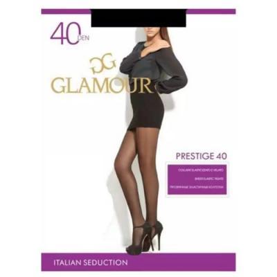 Колготки GLAMOUR Prestige 2 40 den черный колготки glamour glamour gl302fwxqk42
