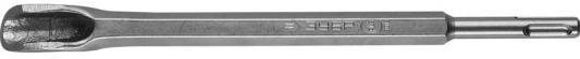 Зубило ЗУБР 29366-22-250  штробер ПРОФЕССИОНАЛ полукруглое для перф. SDS+ 22x250мм