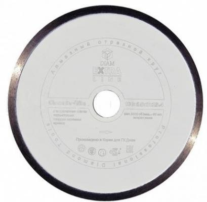 Круг алмазный DIAM Ф180x25.4мм 1A1R CERAMICS-ELITE 1.6x7мм по керамике