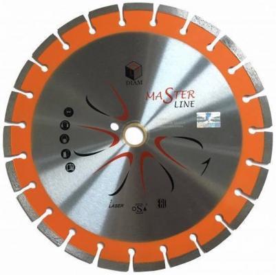 Круг алмазный DIAM Ф300x32/25.4мм Master Line 2.8x10мм универсальный