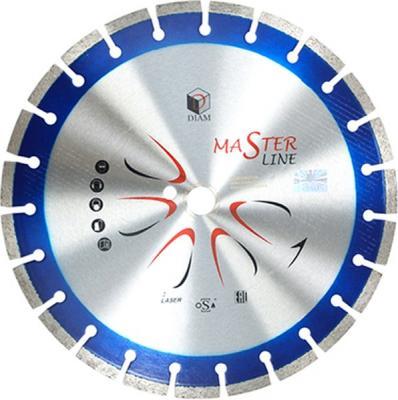 Круг алмазный DIAM Ф350x25.4мм Master Line 3.0x10мм 000503