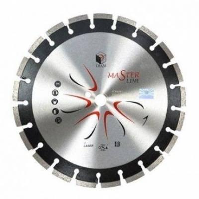 Круг алмазный DIAM Ф400x25.4мм Master Line 3.0x10мм по асфальту