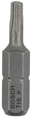 Бита BOSCH EXTRA-HART T15 25 мм, 3 шт. (2.607.001.607) 3шт. цены онлайн