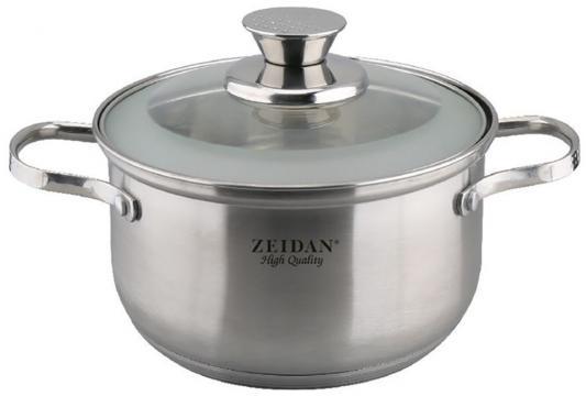 Кастрюля Zeidan Z-50282 16 см 2.3 л нержавеющая сталь кастрюля interos 15231 маслины 5 7 л углеродистая сталь