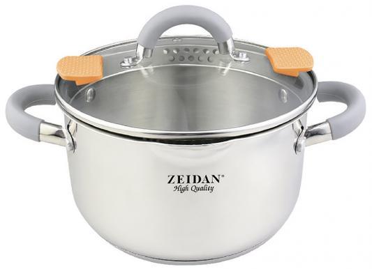 Кастрюля Zeidan Z-50288 16 см 2.1 л нержавеющая сталь чайник zeidan z 4110 2 7 л нержавеющая сталь серебристый