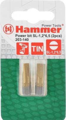 Бита Hammer Flex 203-140 PB SL-1,2*6,5 25мм TIN, 2шт. composite structures design safety and innovation