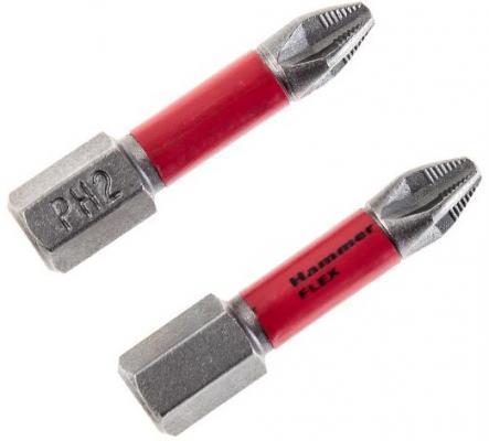 все цены на Бита Hammer Flex 203-150 торсионная PH-2 30мм (2шт.) онлайн