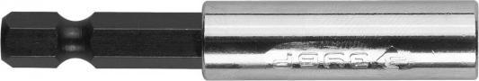 Адаптер ЗУБР МАСТЕР 26711-60 комбинированный магнитный для бит 60мм адаптер угловой для бит зубр эксперт 26754 135