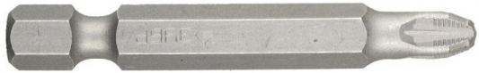 Бита ЗУБР МАСТЕР 26003-2-50-10 кованая CrMo E 1/4 PZ2 50мм 10шт бита зубр эксперт 26013 2 100 1 торсион кованая обточ crmo e 1 4 pz2 100мм 1шт