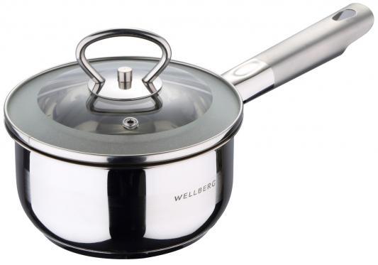 Ковш Wellberg WB-08038 14 см 1 л нержавеющая сталь ковш 1 5 л discovery 916194