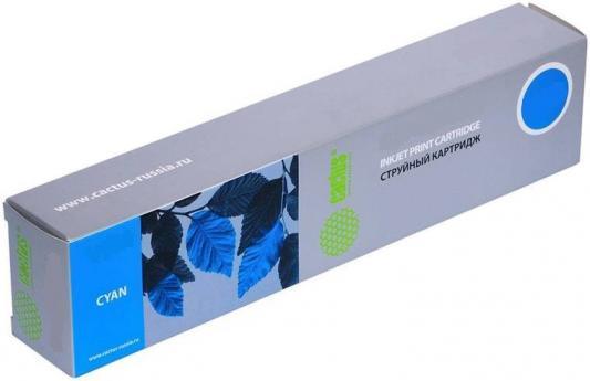 Картридж Cactus CS-F6T81AE для HP PageWide Pro 452dw/ 477dw голубой
