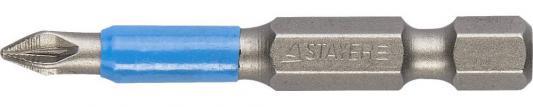 Бита STAYER PROFI 26223-1-50-02 E 1/4 PZ1 50мм 2шт паяльная лампа stayer 1л profi 40655 1 0