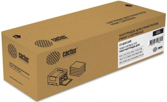 Картридж Cactus CS-Q2612AR для HP LJ 1010/1012/1015/1018/1020/1020Plus/1022/3015/3020 черный 2000стр q2465 60001 q3649 60002 formatter pca assy formatter board logic main board mainboard mother board for hp 1012 1010