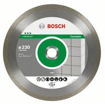 Диск алм. BOSCH Best for Ceramic 250x25.4/30 корона (сплошной) (2.608.602.638) 250 Х 25.4/30 корона
