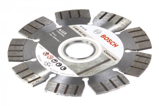 Диск алм. BOSCH Best for Concrete 125x22 сегмент (2.608.602.652) 125 Х 22