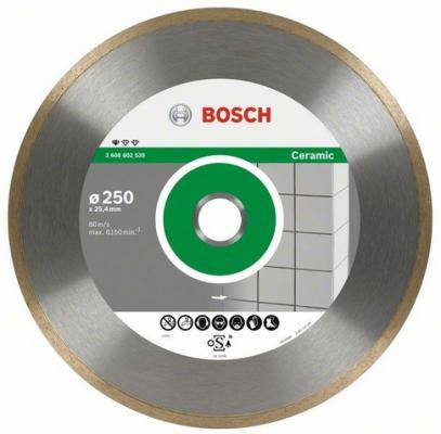 Диск алм. BOSCH Standard for Ceramic 250x25.4/30 корона (сплошной) (2.608.602.539) 250 Х 25.4/30 ко весы scarlett sc bs33e064