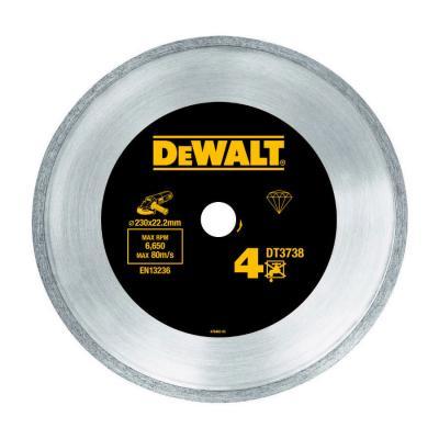 Диск алм. DeWALT DT3736-XJ со сплошной кромкой по керамике, 125x22.2x2.2мм roland sj 640 xj 640 l bearing rail block ssr15xw2ge 2560ly 21895161 printer parts