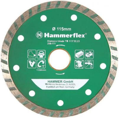 Диск алм. Hammer Flex 206-111 DB TB 115x22мм турбо freight cost controlling