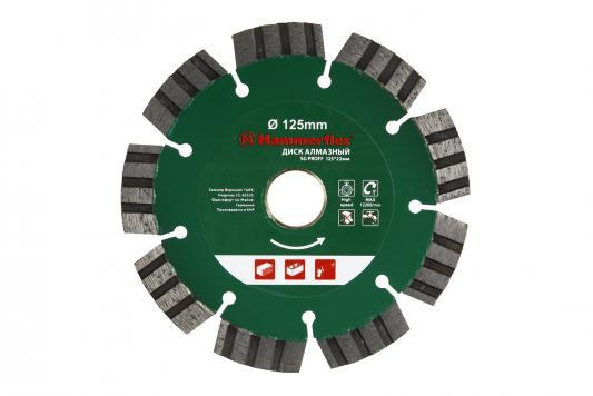 Диск алм. Hammer Flex 206-142 DB SG PROFF 125x22мм сегментный ПРОФИ круг алмазный hammer 206 155 db tb proff