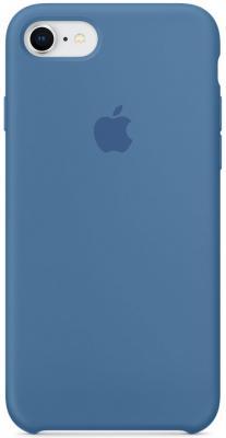 Накладка Apple Silicone Case для iPhone 7 iPhone 8 синий MRFR2ZM/A apple mq0k2zm a iphone 7 silicone case camellia zml