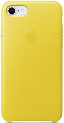 Накладка Apple Leather Case для iPhone 7 iPhone 8 желтый MRG72ZM/A накладка apple leather case для iphone 7 iphone 8 баклажанный mqhd2zm a